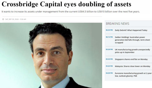 Crossbridge Capital eyes doubling of assets: Tarek Khlat
