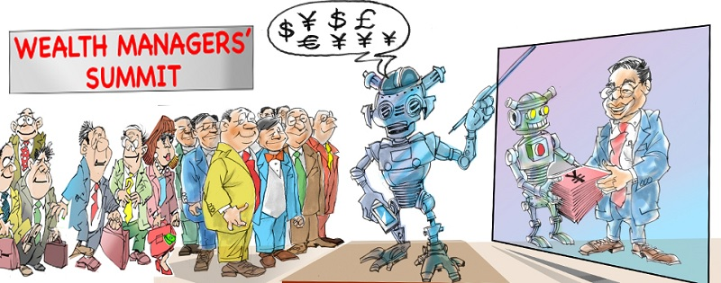 Why global wealth managers yearn for robo-advisors to build AUM