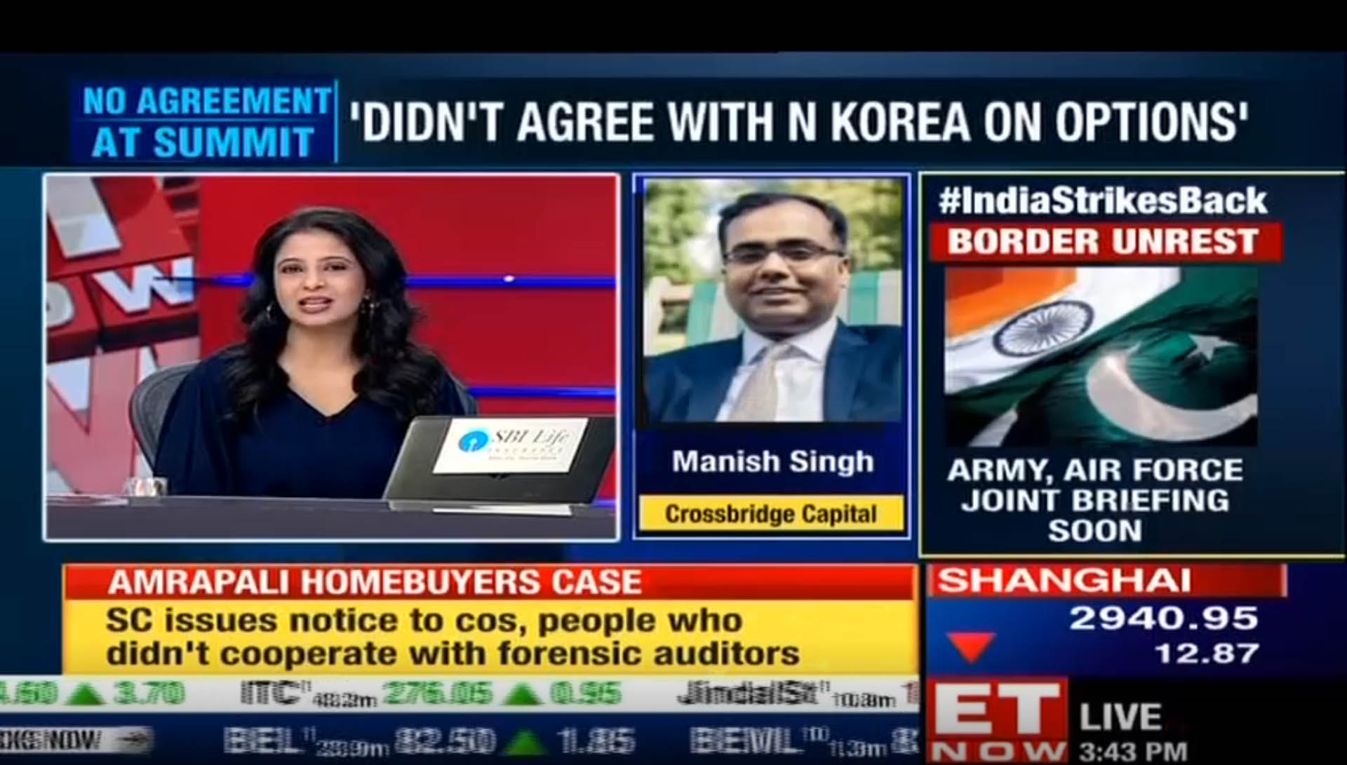 Crossbridge Capital's Manish Singh talks about the possible outcomes from Trump-Kim summit.